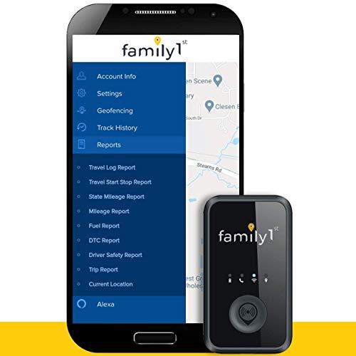 Family1st Mini GPS Tracker Device for Vehicles -...