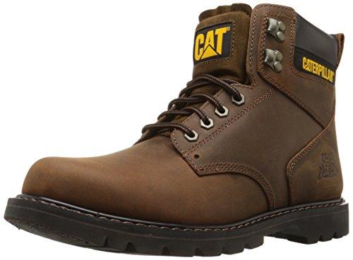 Caterpillar Men's Second Shift Work Boot, Dark Brown, 9 M US