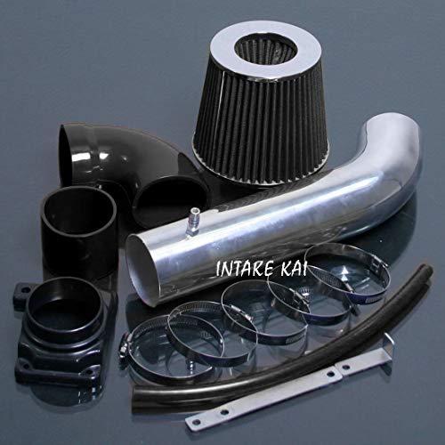 PERFORMANCE AIR INTAKE KIT + FILTER FOR 2000-2005 Mitsubishi Eclipse SPYDER GS GT GTS RS 2.4 2.4L 4CYL 3.0 3.0L V6 ENGINE (BLACK)