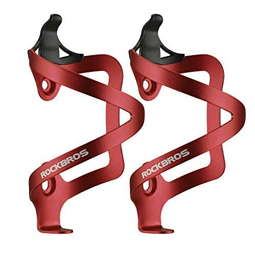 ROCKBROS(ロックブロス)ボトルケージ 自転車 ロードバイク アルミ合金製 ボトルホルダー 超軽量