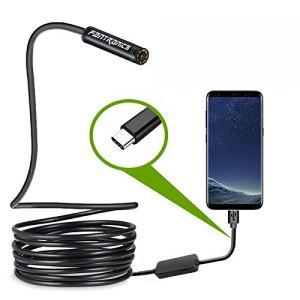 USB Snake Inspection Camera,Fantronics 2.0 MP IP67 Waterproof USB C...
