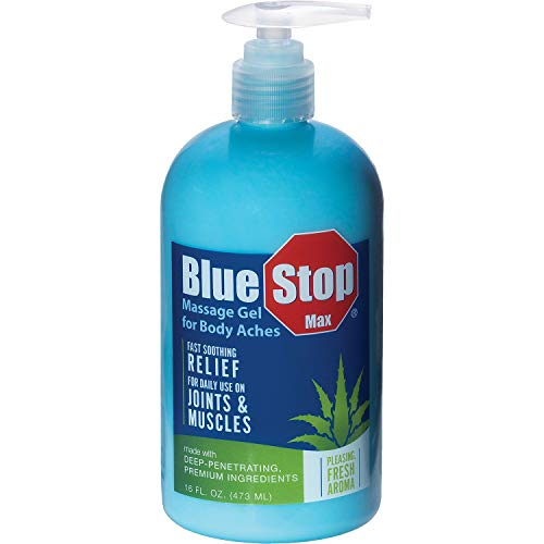 Blue Stop Max Massage Gel (16 fl. oz.)