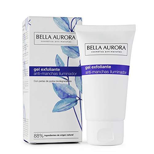 Bella Aurora Gel Exfoliante Facial Anti-Manchas | Limpia la Piel en Profundidad | Peeling Facial Enzimático para la Cara, 75 ml