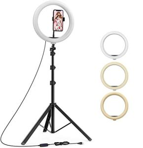 upReale Professional 10″ inch LED Ring...