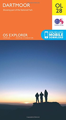 OS Explorer OL28 Dartmoor (OS Explorer Map)