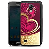 DeinDesign Samsung Galaxy S4 mini Coque Étui Housse C½ur en or