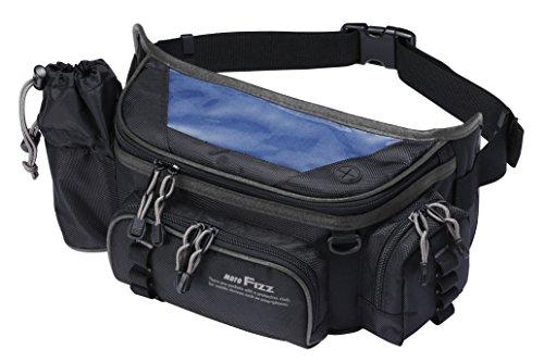 タナックス (TANAX) ウエストバッグ モトフィズ(MOTOFIZZ) デジバッグプラス ブラック MFK-202 (容量6.3ℓ)