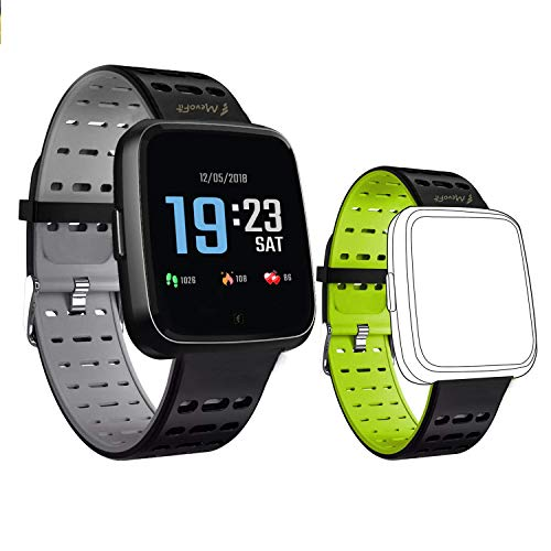 MevoFit Race-Space Smart-Watch for Fitness & Sports PRO: Fitness-Sporty Smart-Watch, All Activity Tracking