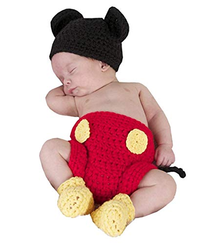 Jastore Photography Prop Baby Costume Cute Crochet Knitted Hat...
