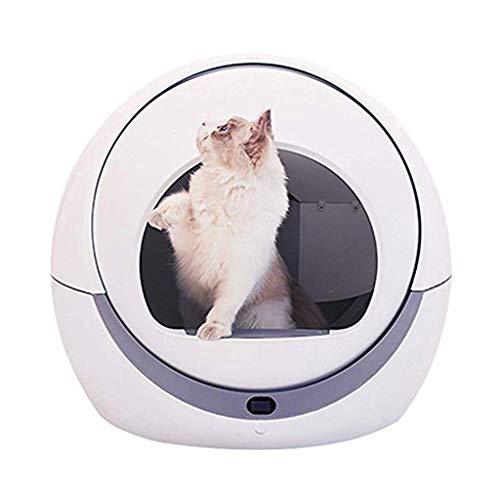Mysida Cat Litter Box Selbstreinigendes Katzentoiletten-Tray Deodorant...