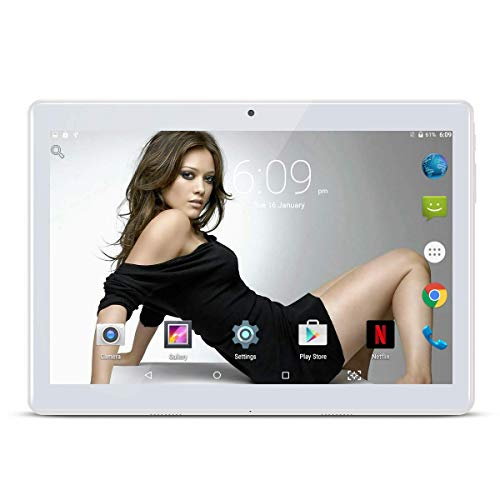 10.1 pollici Tablet Android 8.1 Phablet Octa Core 4 GB RAM 64 GB ROM 3G Phablet con WiFi GPS...