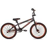 KENT 20' Chaos Boys' Bike, 62082, Matte Gray/Orange (Matte Gray/Orange)