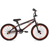 KENT 20' Chaos Boys' Bike, 62082, Matte Gray/Orange (Matte Gray/Orange)