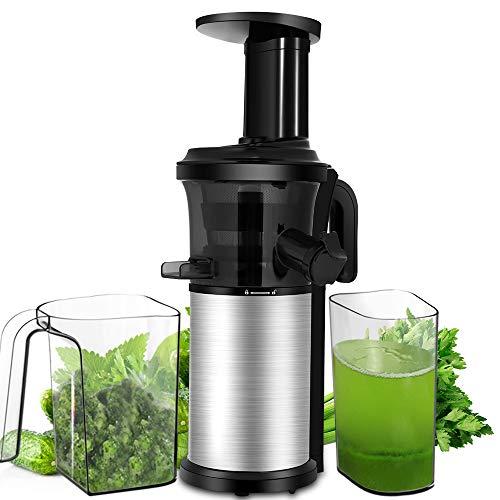 Slow Juicer, Sagnart Juicer Machine for Vegetables & Fruits,...