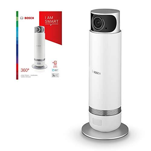 Bosch Smart Home Überwachungskamera (360° drehbar, kompatibel mit Alexa, für den Innenbereich, 2. Generation)