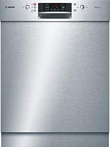 Bosch Elettrodomestici Serie 4 SMU46LS00E Lavastoviglie, Silenceplus, Display a 7 Segmenti, 60 cm,...