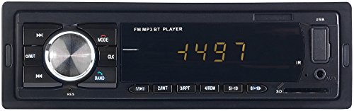 PEARL Kfz Radio: MP3-Autoradio mit Bluetooth, Freisprech-Funktion, USB & SD, 4X 45 Watt (Autoradios 1 DIN, Bluetooth)