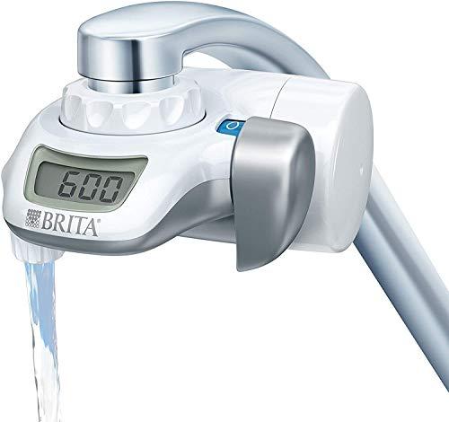 BRITA On Tap Sistema de Filtración para grifo – Agua filtrada de excelente sabor – Incluye 1 filtro para grifo BRITA ON TAP – 600 litros de agua filtrada por cartucho – Color blanco
