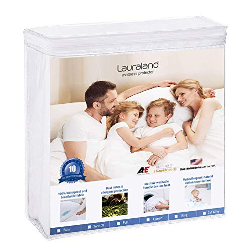 Lauraland Twin Size Mattress Protector