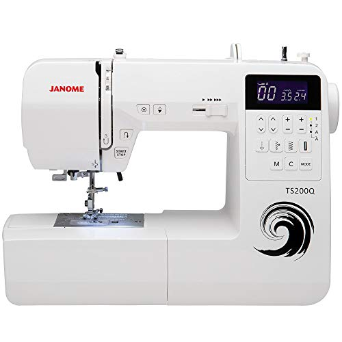 Janome Sewing Machine, White