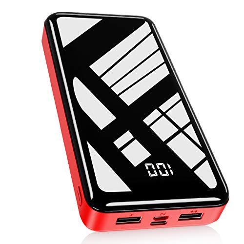 Bextoo Powerbank 30000mAh, Batterie Externe Haute Capacité avec 2 Sorties...
