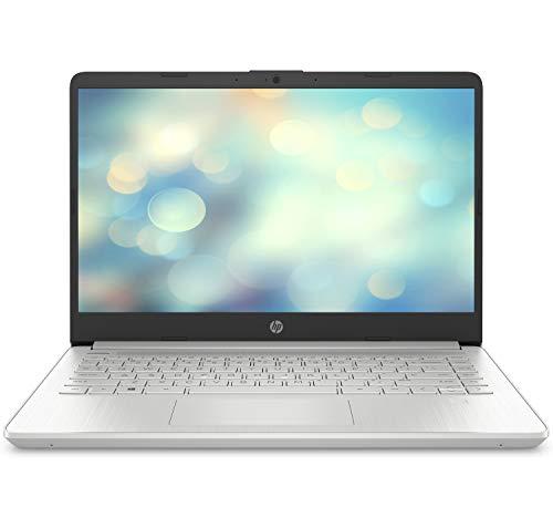 "HP 14s-dq1014ns - Ordenador portátil de 14"" FullHD (Intel Core i7-1065G7, 8GB RAM, 512GB SSD, tarjeta gráfica integrada Intel Iris, sin Sistema operativo) gris - Teclado QWERTY Español"