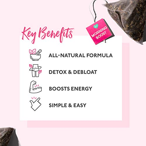 SkinnyMint 28 Day Ultimate Teatox (42 Tea Bags). All Natural Tea Blend to Support Your Weight Loss Goals and Help Boost Your Energy Levels. 5