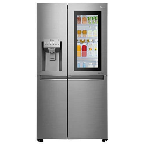 LG GSX961PZVZ Frigorifero Americano Side by Side Total No Frost con Congelatore, 601 L, 39 dB, Tecnologia InstaView -...