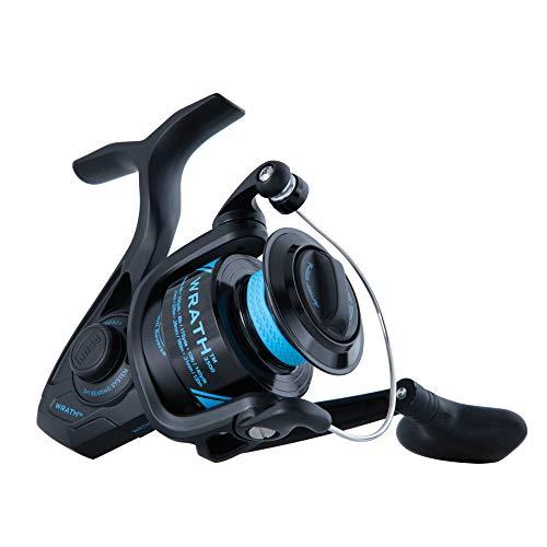 PENN Fishing Wrath Spinning Fishing Reel - WRTH2500C, Black, Blue