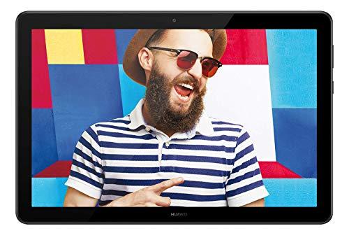 HUAWEI T5 Mediapad - Tablet con Display da 10.1', 32 GB Espandibili, 3 GB RAM, Android 8.0 EMUI 8.0 OS, Wi-Fi, Nero