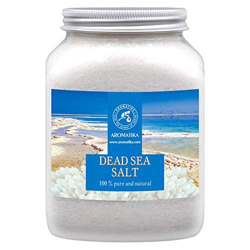 Sal del Mar Muerto 1000g - 100% Puro y Natural - 1Kg Sales d