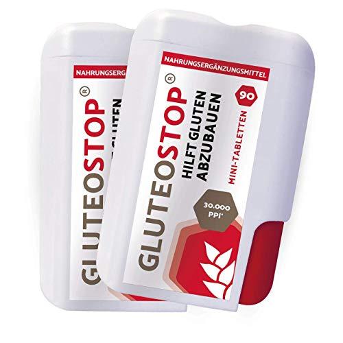 GluteoStop® - ayuda a descomponer el gluten - sensibilidad