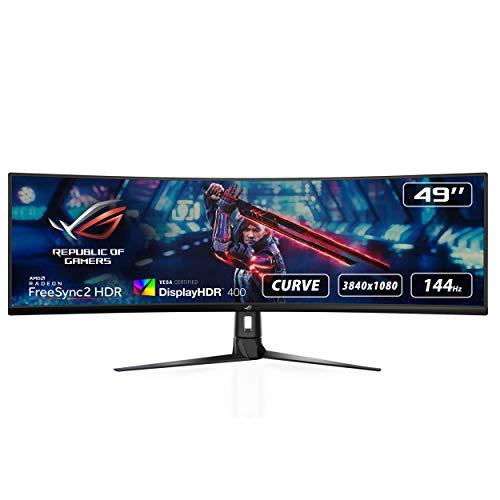 ASUS ROG Strix XG49VQ, Monitor Gaming Ultrapanorámico (3840 X 1080P,...