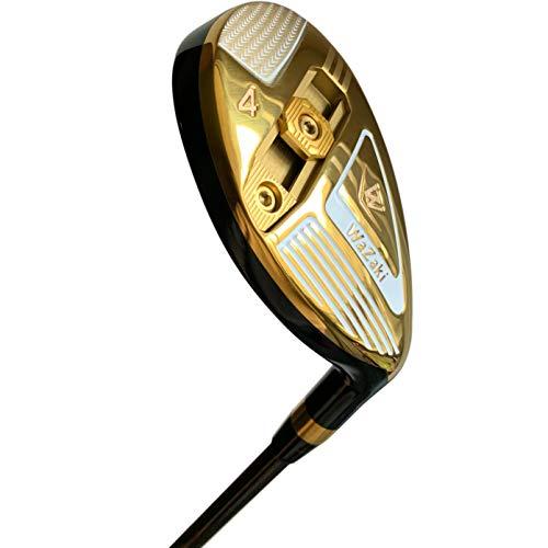 Japan-Wazaki-WL-III-Mx-Steel-Adjustable-Hybrid-Iron-Single-Golf-Club-with-Headcover23-Degree-LoftRegular-Flex65g-Graphite-ShaftRight-Handed