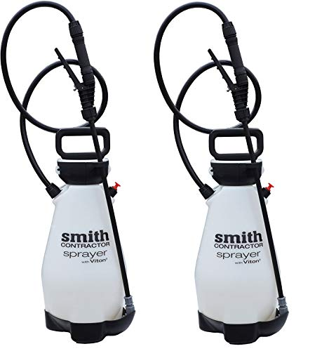 Smith Contractor 190216 2-Gallon Sprayer for Weed Killers, Herbicides, and Insecticides(2-Pack)