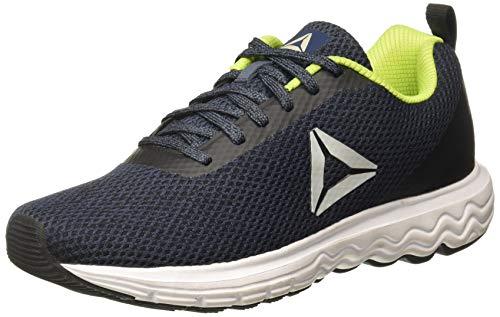 Reebok Men's Zoom Runner Smoky Indigo/Black Running Shoes - 7(DV7578) - Smoky Indigo/Black - 7 UK (8 US)