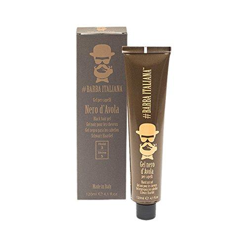Barba Italiana Gel Nero D'Avola - Gel nero per capelli grigi - 120 ml