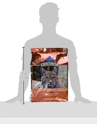 Product Image 7: Blue Buffalo Wilderness High Protein, Natural Adult Indoor Hairball & Weight Control Dry Cat Food, Chicken 11-lb