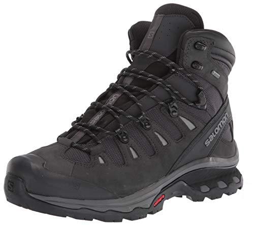 Salomon Men's Quest 4D 3 GTX Backpacking Boots, PHANTOM/Black/Quiet Shade, 11.5