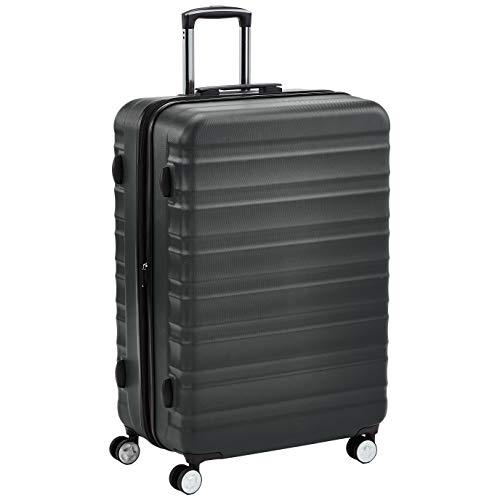 AmazonBasics - Trolley rigido di ottima qualit con rotelle pivotanti e lucchetto TSA integrato, 78...