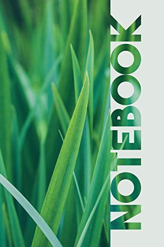 Notebook: Grass Cutting Colorful Composition Book for Lawn Care Services Companies