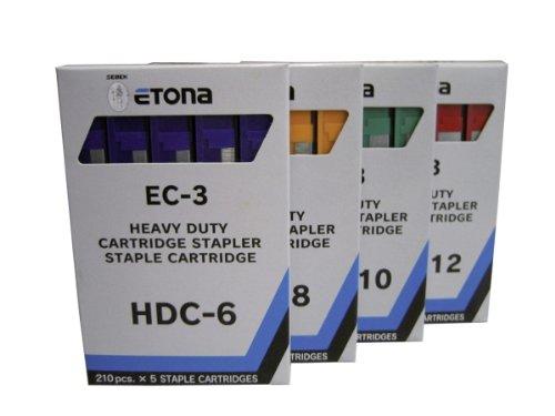 Etona EC3 - Cassetta per punti metallici gelb
