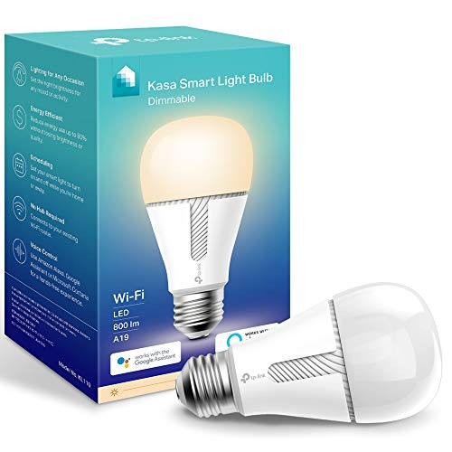 TP-Link Kasa Smart Light Bulb KL110 with Alexa & Google
