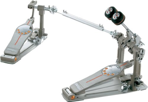 Pearl P-3002D Doble Pedal para Bombo con Sistema de Doble Cadena, Direct Drive con Estuche