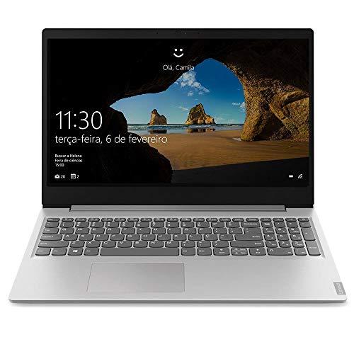 """Notebook Lenovo Ultrafino ideapad S145 Ryzen 5 - 12GB 1TB Windows 10 15.6"""" Dolby Audio Design Leve e Compacto, Prata"""