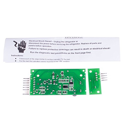 Siwdoy 4389102 Compatible with Whirlpool Icemaker Emitter Sensor Control Board W10757851 AP5956767