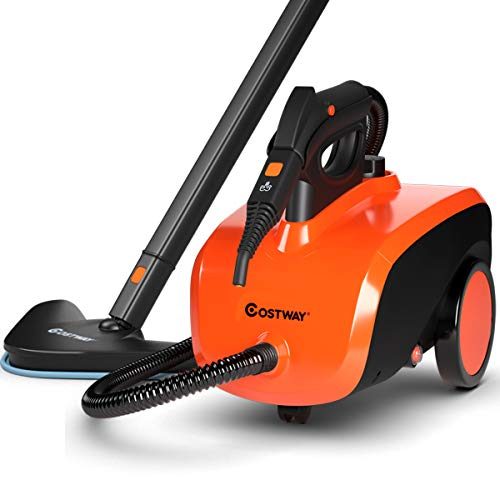 COSTWAY Multipurpose Steam Cleaner with 18 Accessories, Heavy Duty