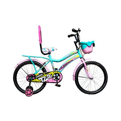Leader Murphy 20T Sea Green/Light Pink Colour Cycle for Kids - Age Group 7 to 10 Years