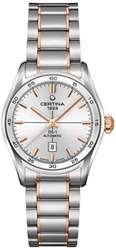 Certina Damen-Armbanduhr XS Analog Automatik Edelstahl C006.207.22.031.00