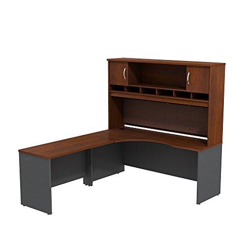 Series C 72W Left Hand Corner L Desk with 72W 2-Door Hutch